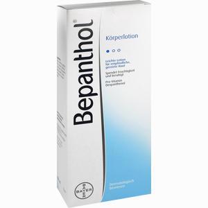 Abbildung von Bepanthol Körperlotion Spenderflasche  400 ml