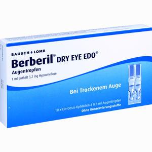 Abbildung von Berberil Dry Eye Edo Augentropfen 10 x 0.6 ml