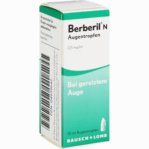 Abbildung von Berberil N Augentropfen  10 ml