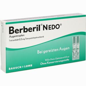 Abbildung von Berberil N Edo Einzeldosispipetten 10 x 0.5 ml