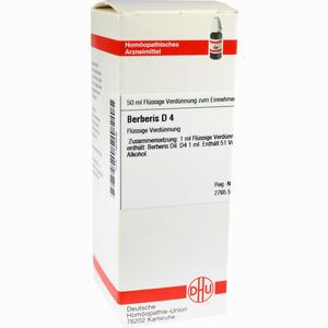 Abbildung von Berberis D4 Dilution 50 ml