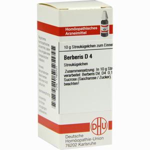 Abbildung von Berberis D4 Globuli 10 g