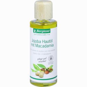 Abbildung von Bergland Jojoba- Hautöl mit Macadamia- Öl  125 ml
