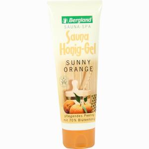 Abbildung von Bergland Sauna Honig- Gel Sunny Orange 125 g