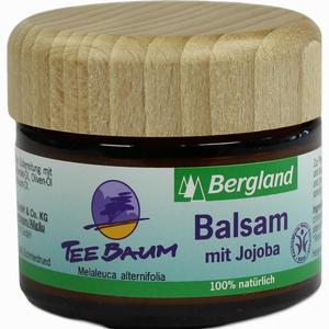 Abbildung von Bergland Teebaum Balsam mit Jojoba  50 ml