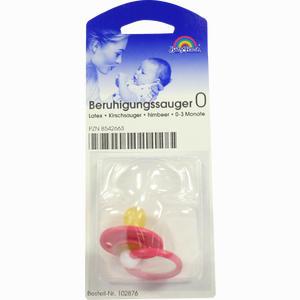 Abbildung von Beruhigungssauger 0 Latex Kirschsauger Himbeere 0- 3 Monate 1 Stück