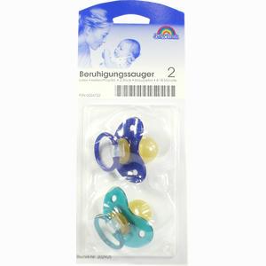 Abbildung von Beruhigungssauger 2 Kieferorthopädisch Aus Latex 6- 18 Monate Blau/Petrol 2 Stück