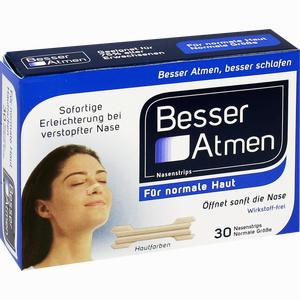 Abbildung von Besser Atmen Nasenstrips Beige Normale Größe Pflaster 30 Stück