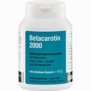 Abbildung von Betacarotin 2000 Kapseln 100 Stück