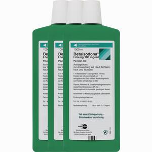 Abbildung von Betaisodona Lösung  3X1000 ml