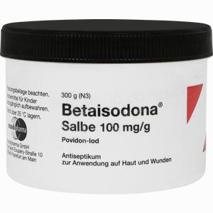 Abbildung von Betaisodona Salbe Tiegel  300 g