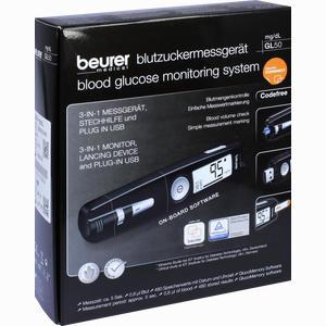 Abbildung von Beurer Blutzuckermessgerät Gl 50 Mg/Dl 1 Stück