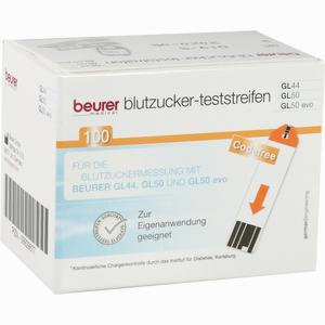 Abbildung von Beurer Blutzuckerteststreifen Gl 44/50  100 Stück