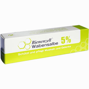 Abbildung von Bienenzell Wabensalbe 5%  100 ml