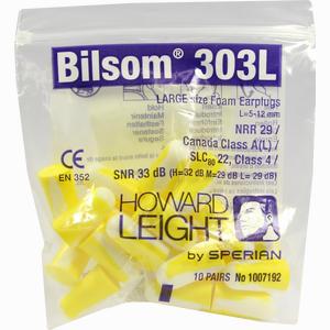 Abbildung von Bilsom 303 Large Gehörschutzstöpsel 20 Stück
