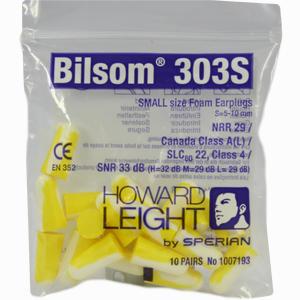 Abbildung von Bilsom 303 Small Gehörschutzstöpsel 20 Stück
