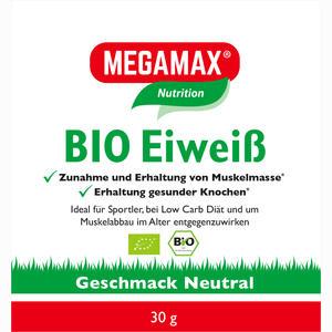 Abbildung von Bio Eiweiss Neutral Megamax Pulver 30 g