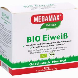 Abbildung von Bio Eiweiss Neutral Megamax Pulver 7 x 30 g