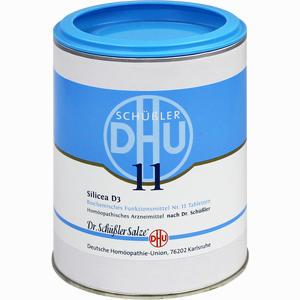 Abbildung von Biochemie 11 Silicea D3 Tabletten 1000 Stück