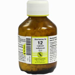 Abbildung von Biochemie 12 Calcium Sulfuricum D12 Tabletten 400 Stück
