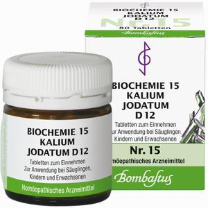 Abbildung von Biochemie 15 Kalium Jodatum D12 Tabletten 80 Stück