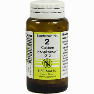 Abbildung von Biochemie 2 Calcium Phosphoricum D12 Tabletten 100 Stück