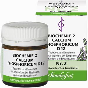 Abbildung von Biochemie 2 Calcium Phosphoricum D12 Tabletten Bombastus 80 Stück