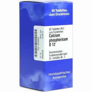 Abbildung von Biochemie 2 Calcium Phosphoricum D12 Tabletten Iso-arzneimittel 80 Stück