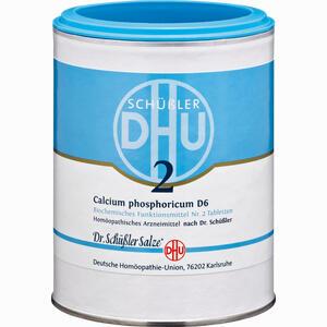 Abbildung von Biochemie 2 Calcium Phosphoricum D6 Tabletten 1000 Stück