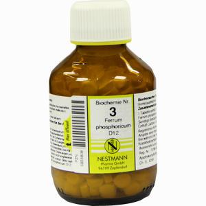 Abbildung von Biochemie 3 Ferrum Phosphoricum D12 Tabletten 400 Stück