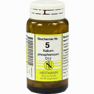 Abbildung von Biochemie 5 Kalium Phosphoricum D12 Tabletten 100 Stück