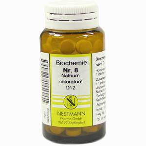 Abbildung von Biochemie 8 Natrium Chloratum D12 Tabletten 100 Stück