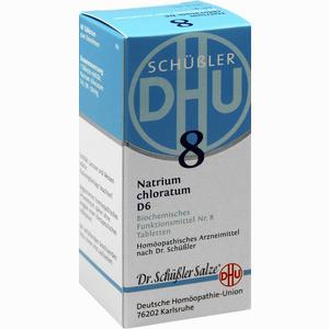 Abbildung von Biochemie 8 Natrium Chloratum D6 Tabletten 80 Stück