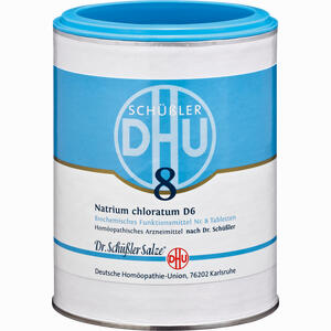 Abbildung von Biochemie 8 Natrium Chloratum D6 Tabletten 1000 Stück