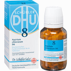 Abbildung von Biochemie 8 Natrium Chloratum D6 Tabletten 200 Stück