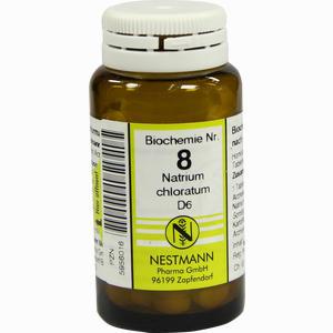 Abbildung von Biochemie 8 Natrium Chloratum D6 Tabletten 100 Stück