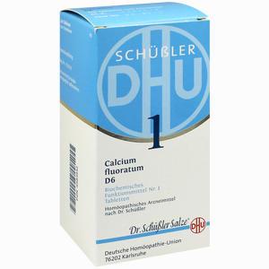 Abbildung von Biochemie Dhu 1 Calcium Fluoratum D6 Tabletten  420 Stück