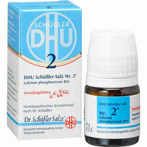 Abbildung von Biochemie Dhu 2 Calcium Phosphoricum D12 Globuli 10 g