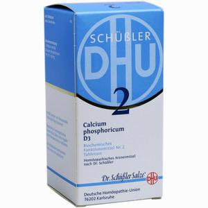 Abbildung von Biochemie Dhu 2 Calcium Phosphoricum D3 Tabletten  420 Stück