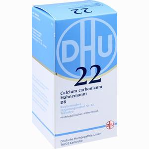 Abbildung von Biochemie Dhu 22 Calcium Carbonicum D6 Tabletten  420 Stück