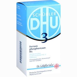 Abbildung von Biochemie Dhu 3 Ferrum Phosphoricum D3 Tabletten  420 Stück