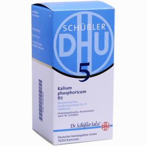 Abbildung von Biochemie Dhu 5 Kalium Phosphoricum D3 Tabletten  420 Stück