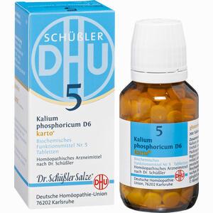 Abbildung von Biochemie Dhu 5 Kalium Phosphoricum D6 Karto Tabletten 200 Stück
