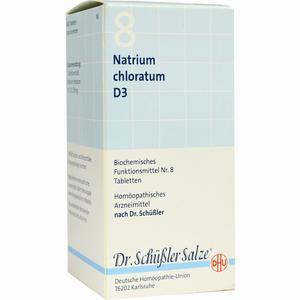 Abbildung von Biochemie Dhu 8 Natrium Chloratum D3 Tabletten  420 Stück