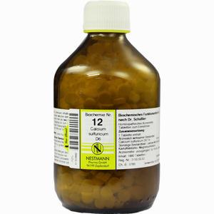 Abbildung von Biochemie Nestmann Nr.12 Calcium Sulfuricum D6 Tabletten 1000 Stück