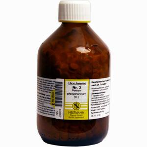 Abbildung von Biochemie Nestmann Nr.3 Ferrum Phosphoricum D12 Tabletten 1000 Stück