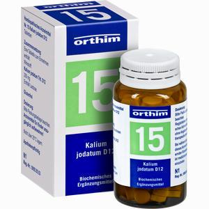 Abbildung von Biochemie Orthim Nr. 15 Kalium Jodatum D12 Tabletten 100 Stück