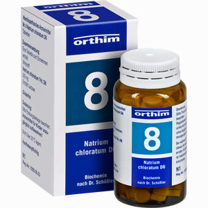 Abbildung von Biochemie Orthim Nr. 8 Natrium Chloratum D6 Tabletten 100 Stück