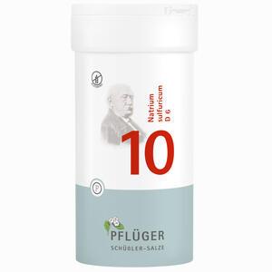Abbildung von Biochemie Pflüger Nr. 10 Natrium Sulfuricum D6 Tabletten 400 Stück