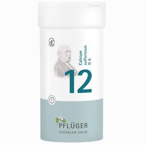 Abbildung von Biochemie Pflüger Nr. 12 Calcium Sulfuricum D6 Tabletten 400 Stück
